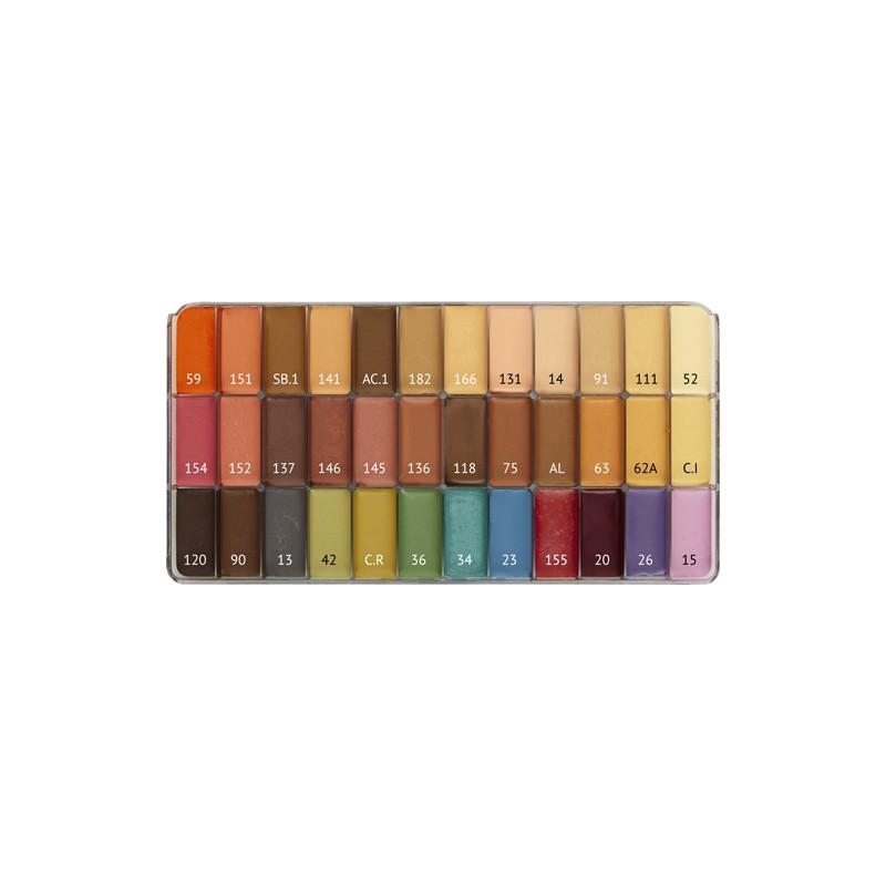 Palette 36 fards Crème Maqpro