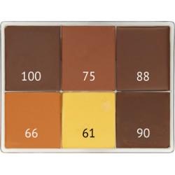 Palette au choix de 6 couleurs
