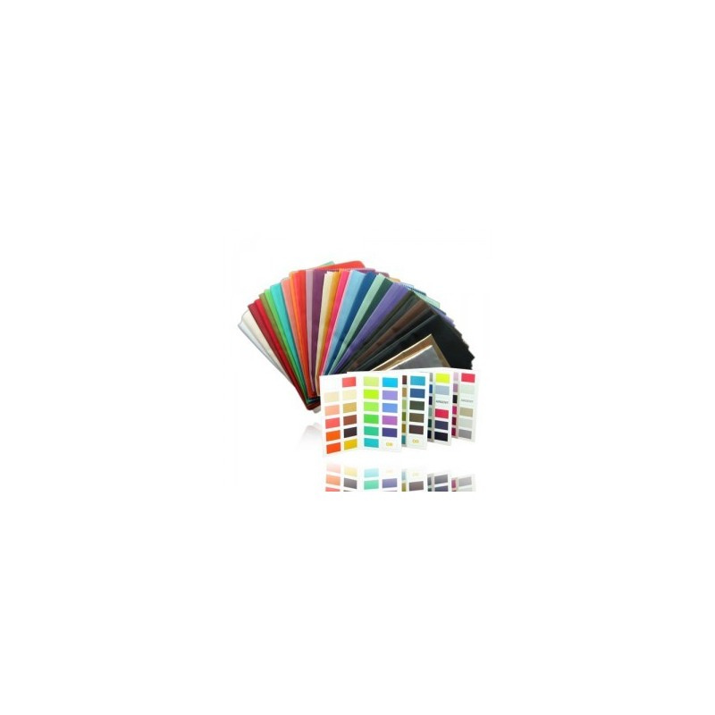 Tejidos consejo en imagen y carta de colores