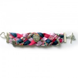 bracelet cœur acidulé