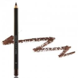 Crayon à lèvres marron peau noir