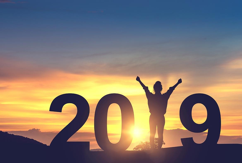 Bonne année 2019 avec le spécialiste de la vente en ligne du Relooking